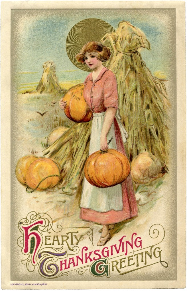 Vintage Thanksgiving Image The Graphics Fairy