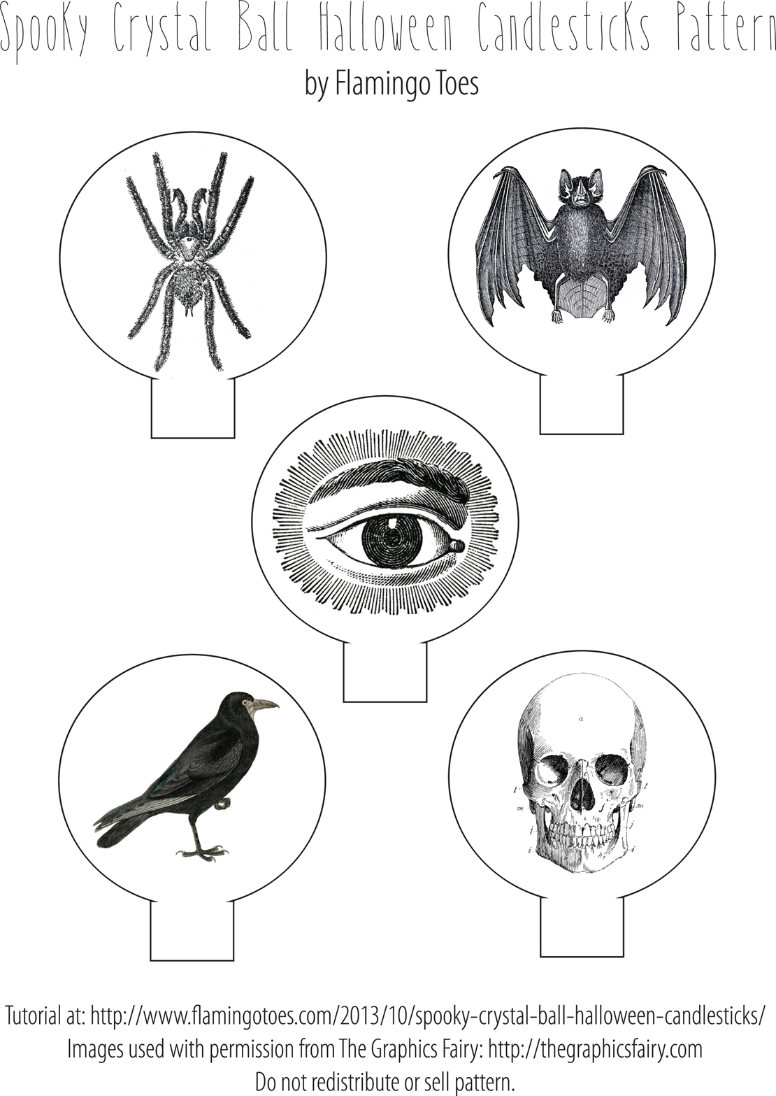 vintage halloween printable and spooky project the graphics fairy