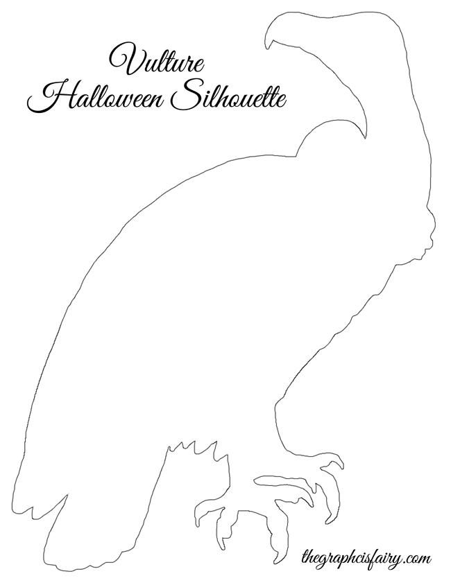 halloween window silhouette templates - Halloween Art Templates