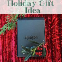 Amazon Kindle Holiday Gift Idea