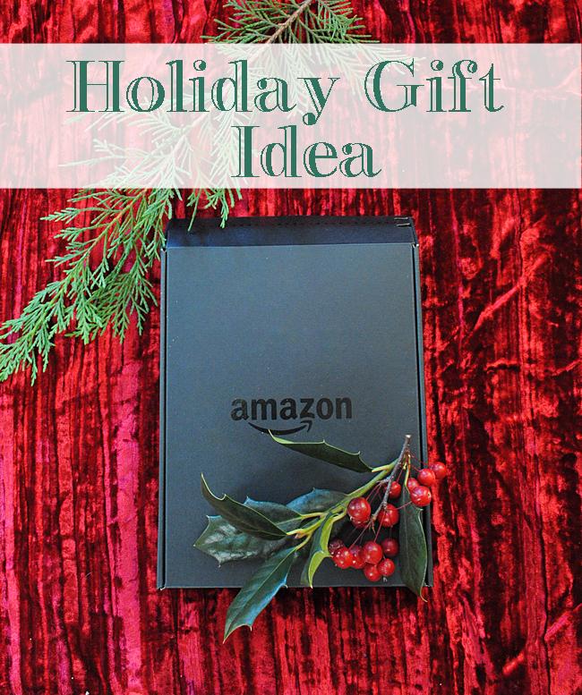 Amazon Kindle Holiday Gift Idea