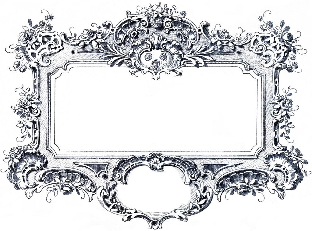 Baroque Frame Image