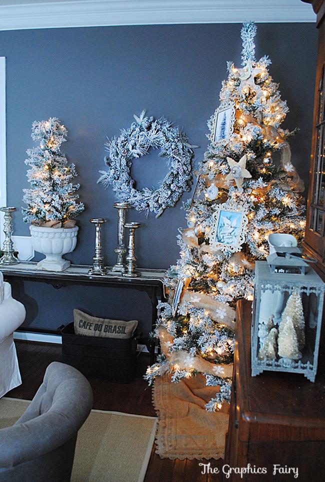 Christmas House Tour 2013 Holiday Housewalk The Graphics Fairy