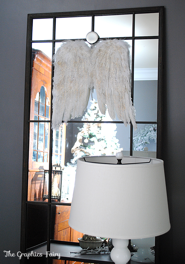 Christmas Home Tour Angel Wings