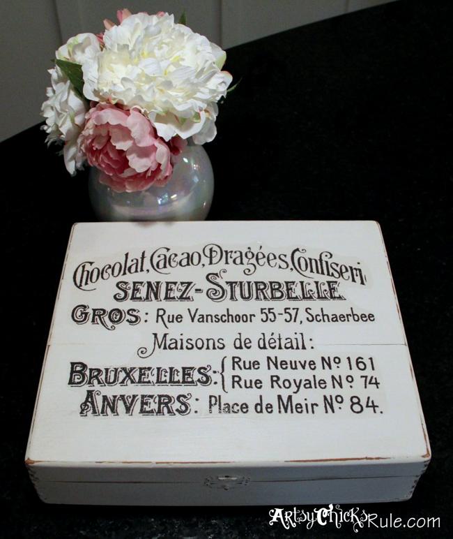 Chocolat Chalk Paint Box