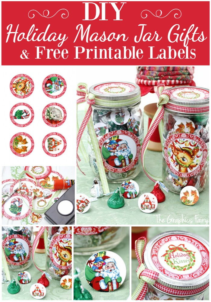 Printable Candy Jar Labels For The Holidays The Graphics Fairy