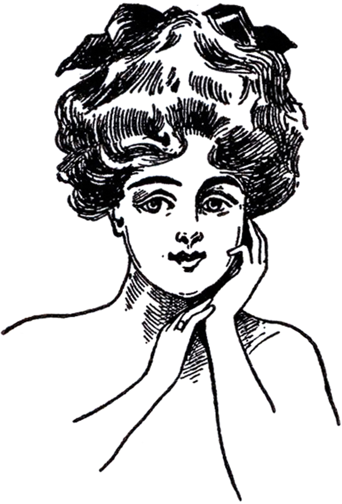 Gibson Girl Images The Graphics Fairy