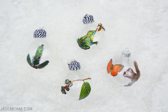 How to make woodland creature ornaments