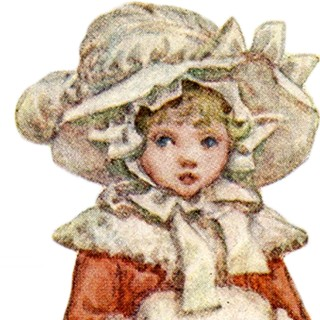 Kate Greenaway Images with Downton Abbey Connection