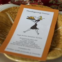 Thanksgiving Menu Card eclecticallyvintage.com
