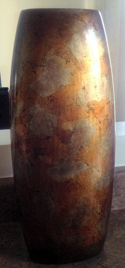 Painted Vase Before