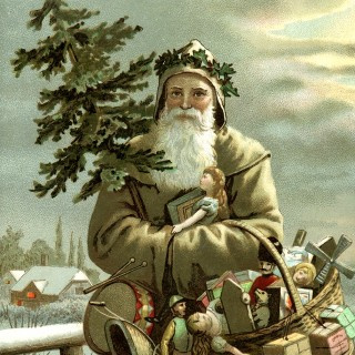 Beautiful Swedish Santa Image – God Jul