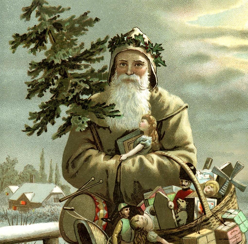 Beautiful swedish santa image god jul the graphics fairy