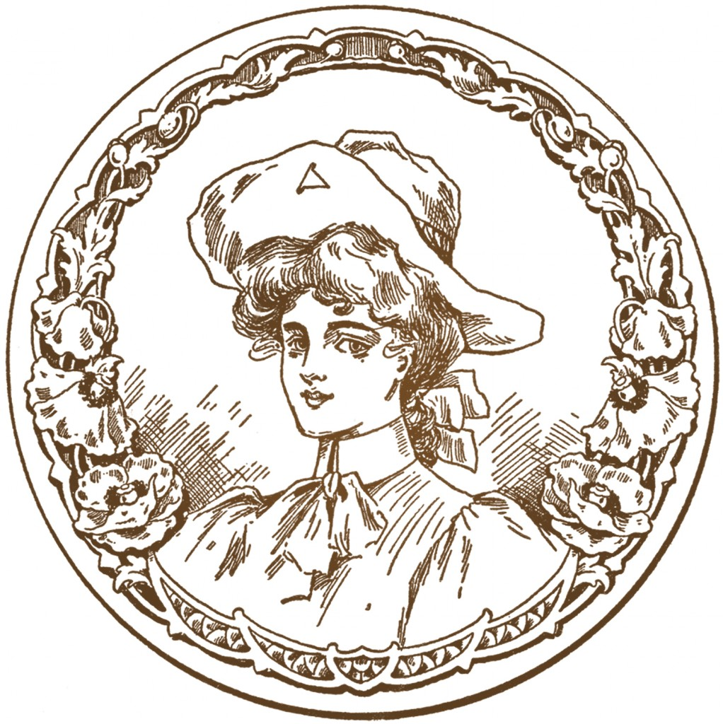 Vintage Cowgirl Image