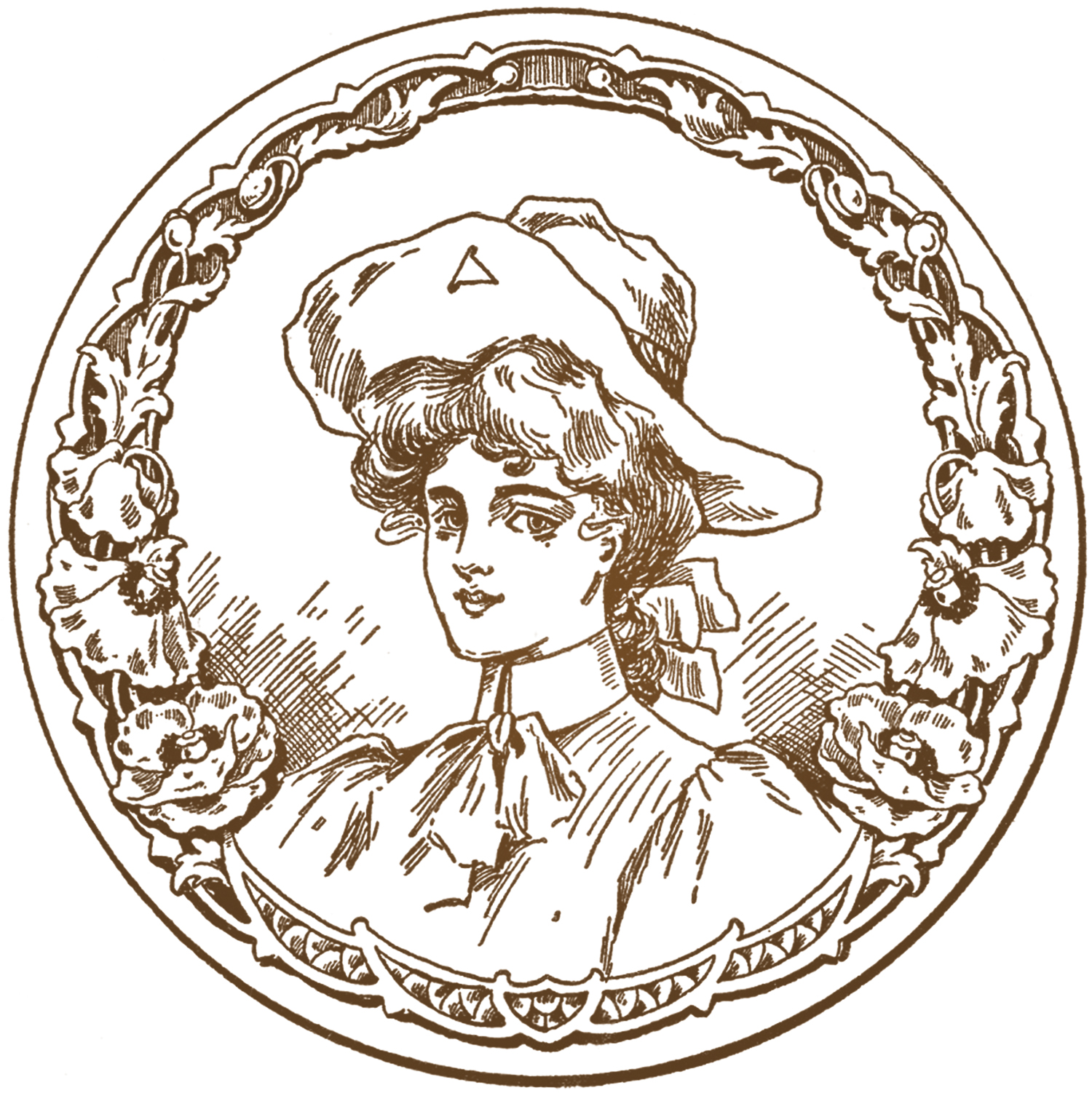 Vintage Cowgirl Image The Graphics