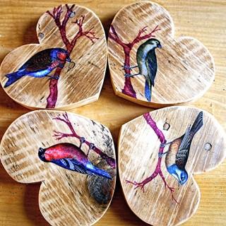 DIY Bird Coasters – Reader Featured Project