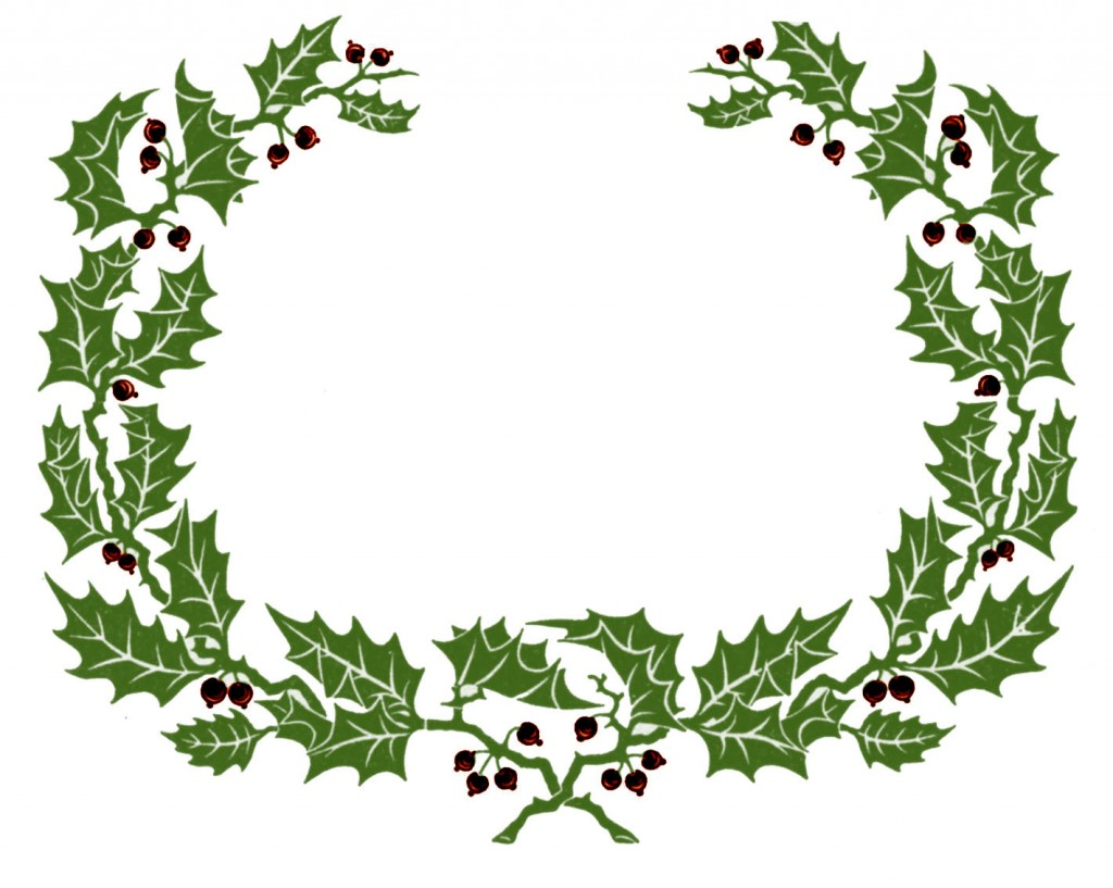 Holly christmas ornaments - 100 Free Christmas Images