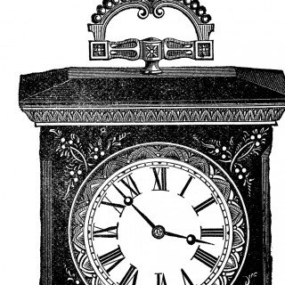Antique Clock Image