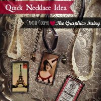 Candie Cooper Last Minute Gift Mod Podge Necklaces 2
