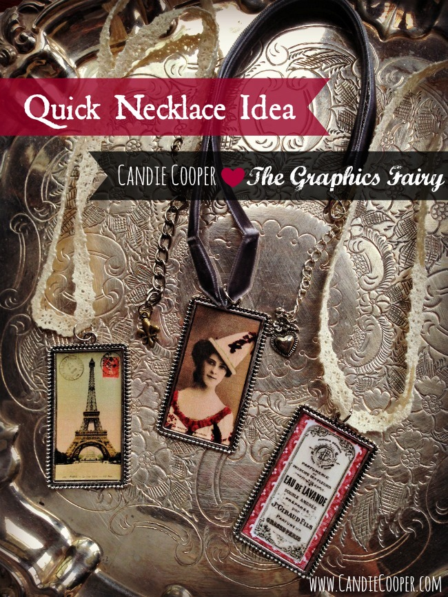 Easy Necklace Idea Candie Cooper