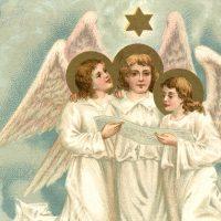 Christmas Angels Image
