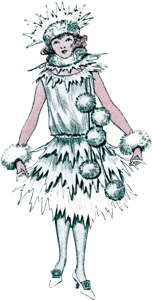 Christmas Snowball Costume