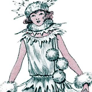Christmas Snowball Costume