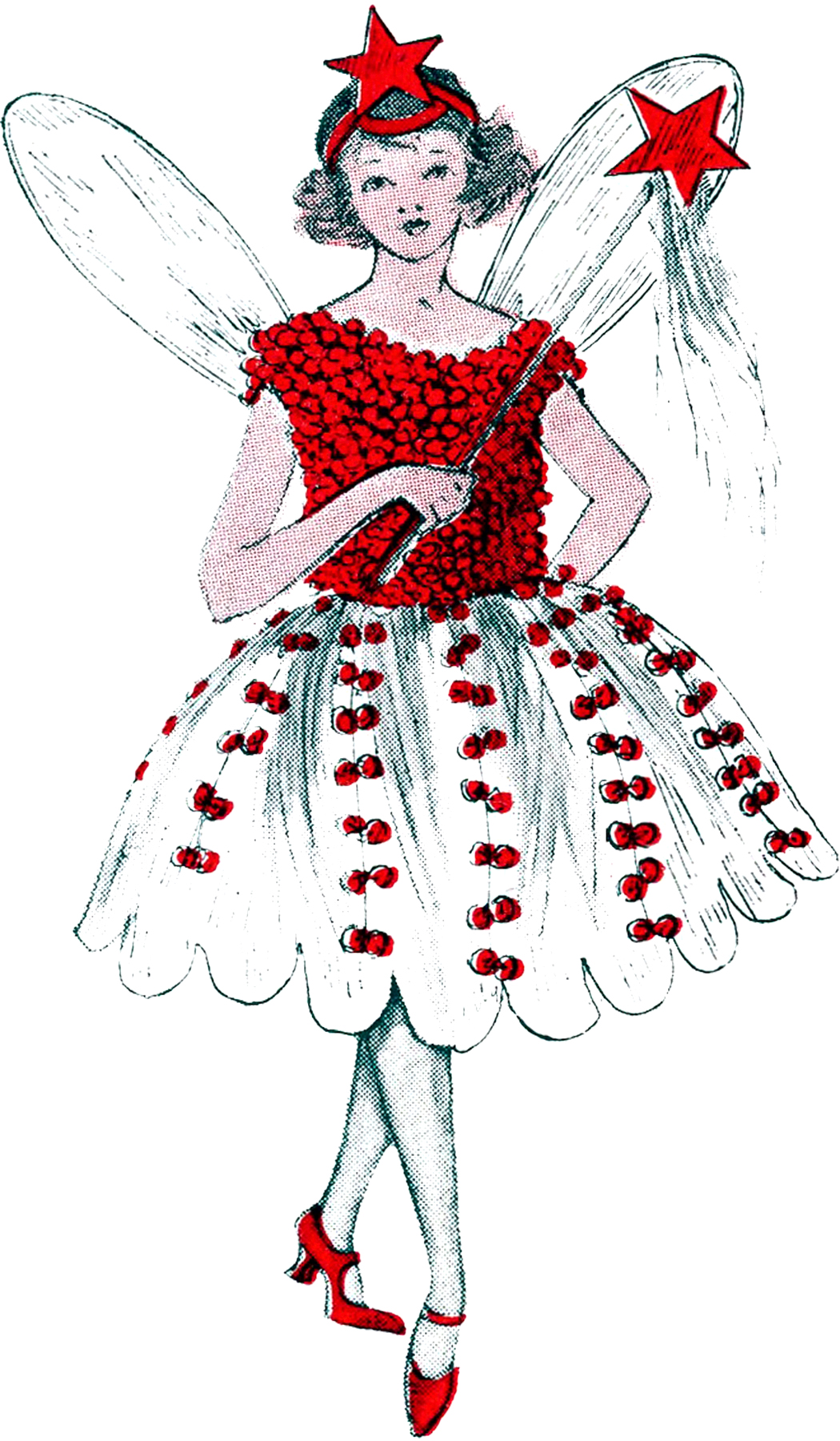 Christmas Fairy Image - The Graphics Fairy