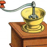 Coffee Grinder Clip Art