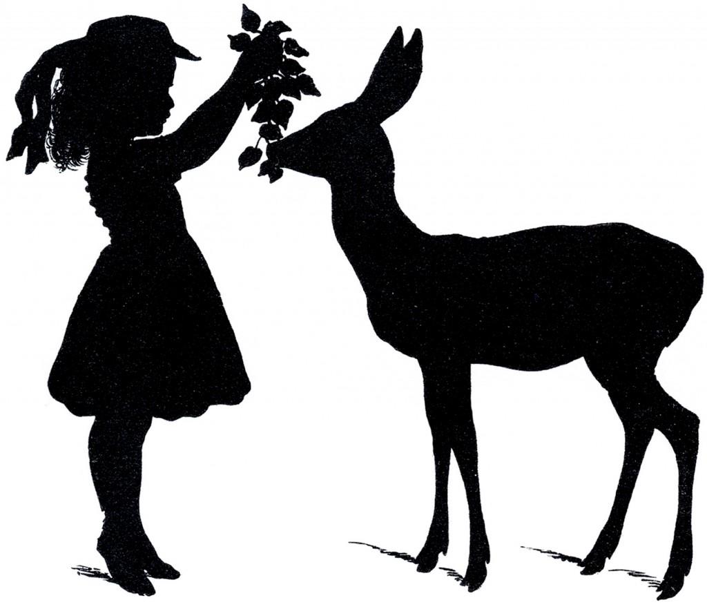 clip art deer silhouette young deer silhouette buck skull silhouette
