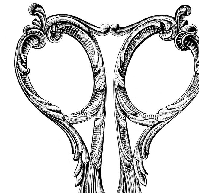 8 Scissors Clipart Graphics! - The Graphics Fairy
