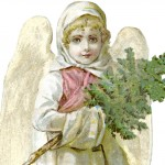 Free Victorian Angel Image