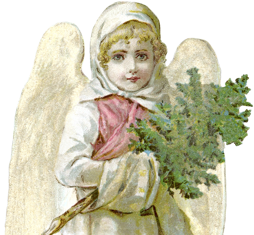 Free Victorian Angel Image Beautiful The Graphics Fairy