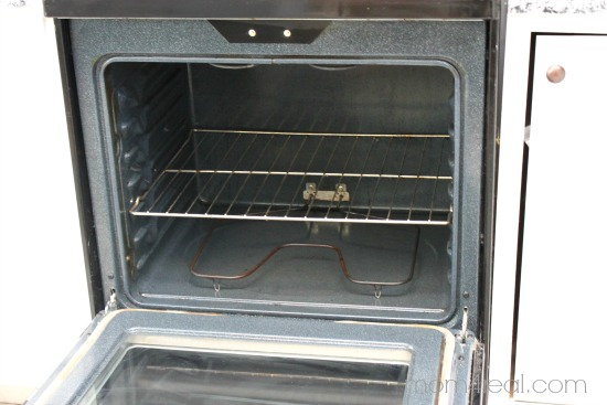 Get your oven clean the natural way