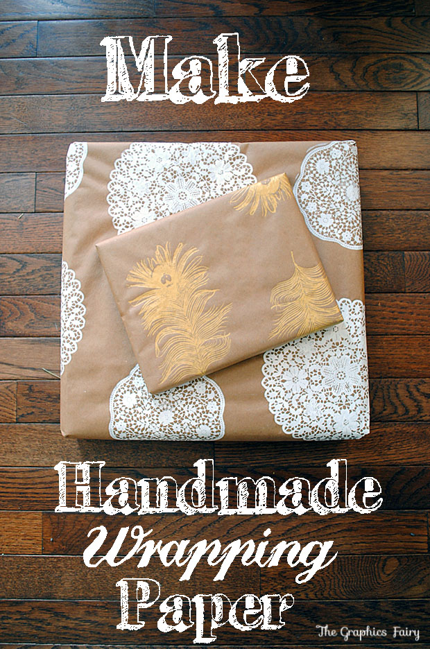 Homemade Gift Wrap DIY