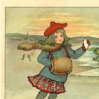 Vintage Winter Clip Art – Miss Winter