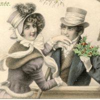Mistletoe Couple Image