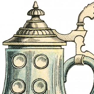 Public Domain Beer Stein Image