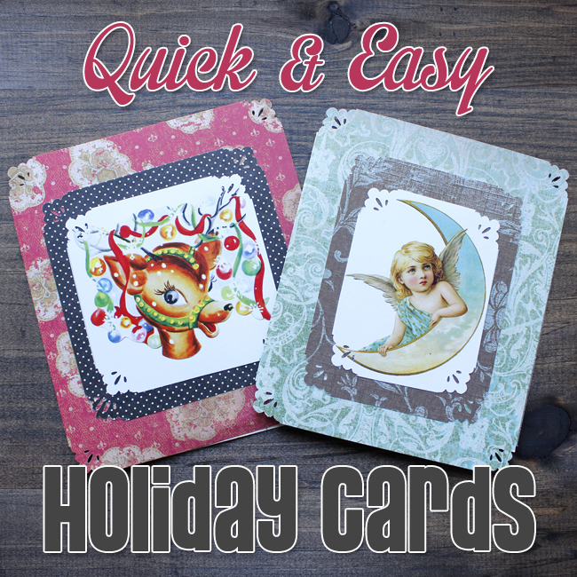 Easy Homemade Holiday Card