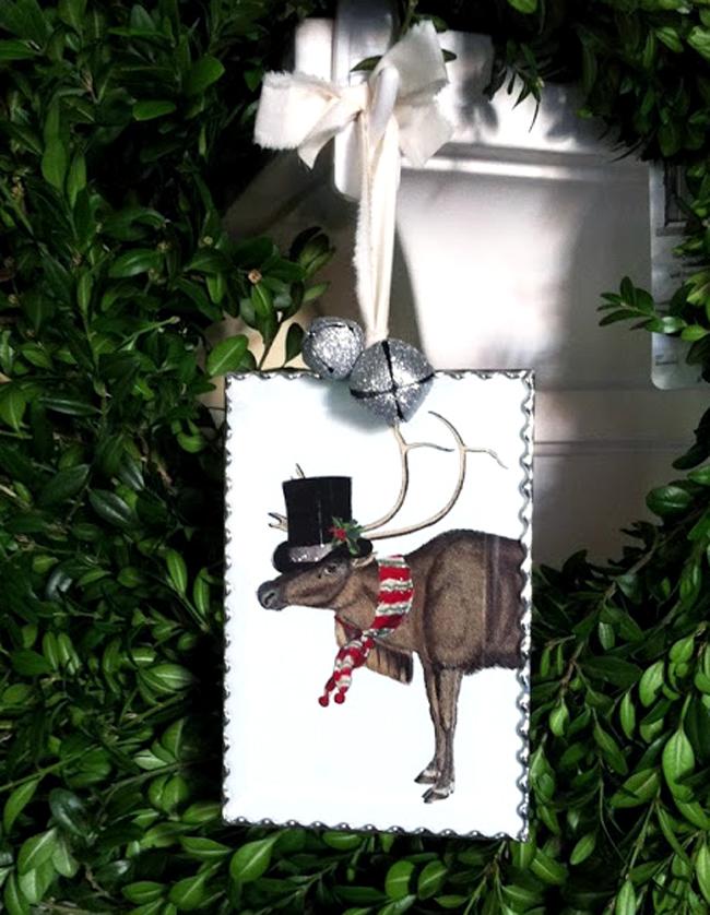 Soldered Reindeer Ornament