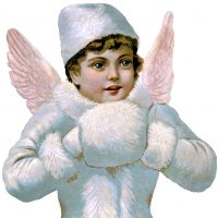 Victorian Scrap Angel Image