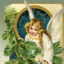 Vintage Angel Postcard