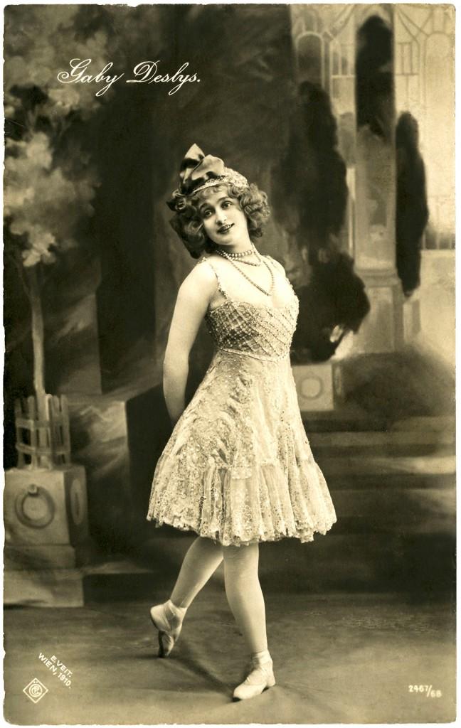 Vintage Ballerina Photo