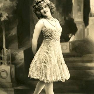 Vintage Ballerina Photo – French