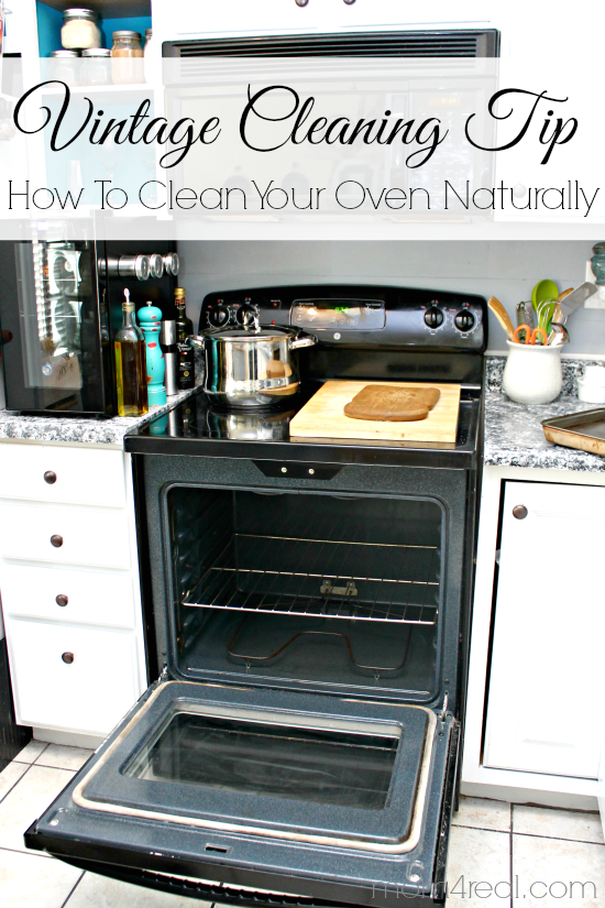 Vintage Cleaning Tip - How To Clean Your Oven Naturally