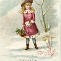 Winter Girl Image