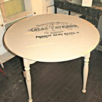 Vintage Inspired Painted Kitchen Table - Reader Featured Project