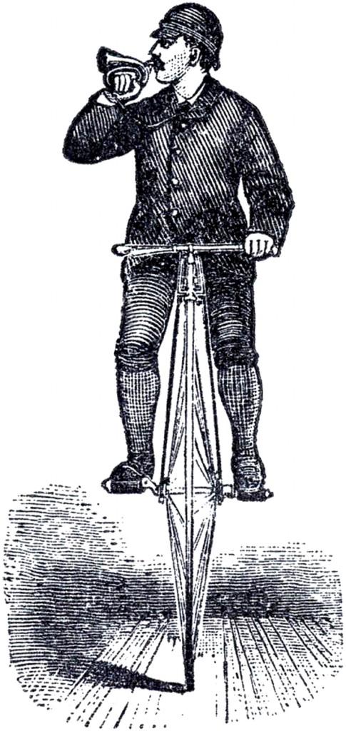 Bicycle Man Steampunk Image