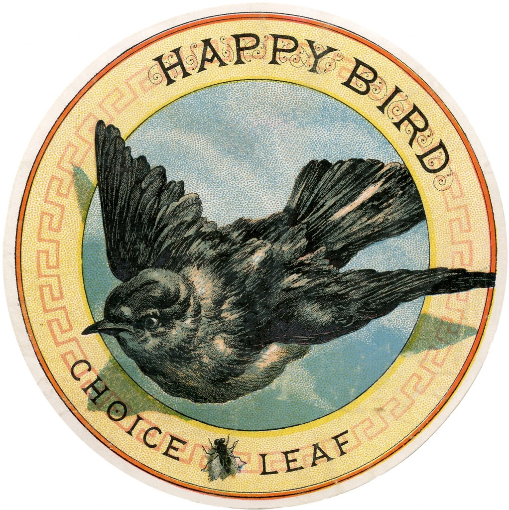 Bird Tobacco Label