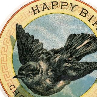 Bird Tobacco Label